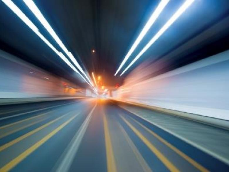 abstract speed motion in highway tunnel webedit